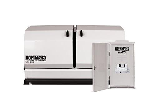 Champion 8.5 Home Generator Rated Automatic