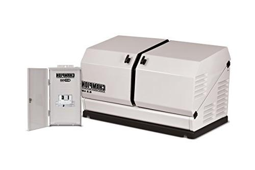 Champion Equipment 100177 8.5 kW Home Standby Generator with ATS50 Outdoor
