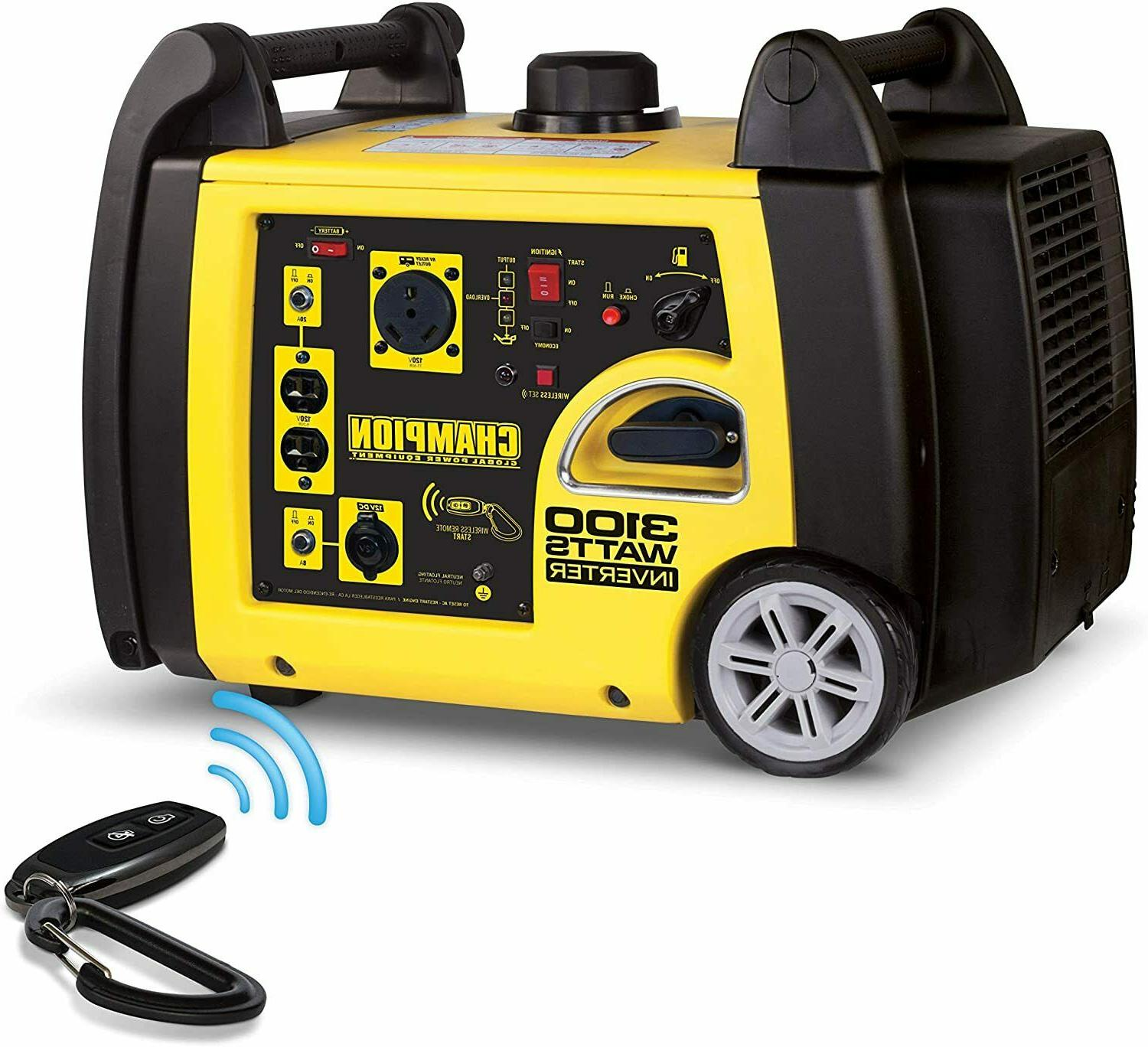 Champion Portable Quiet Electric Inverter