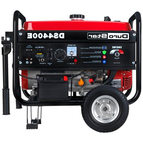 DuroStar Portable Electric Start RV Gas Power