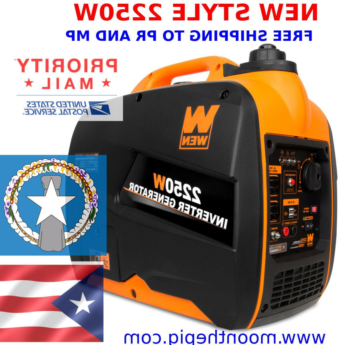 56225i 22250w gas powered portable inverter generator
