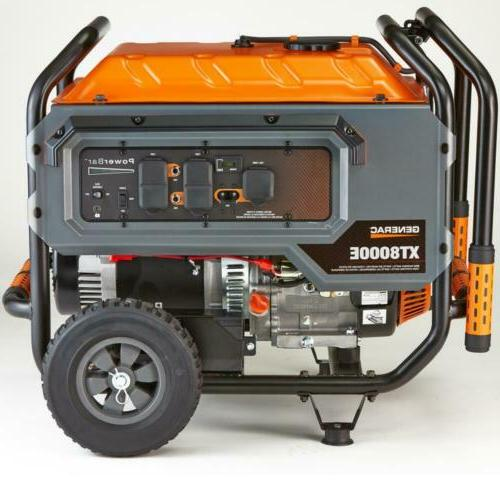 Generac 6433 8000-Watt Electric Powered