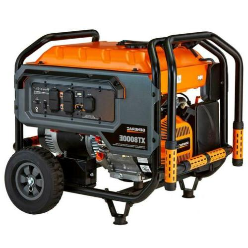 6433 8000 watt electric powered portable generator