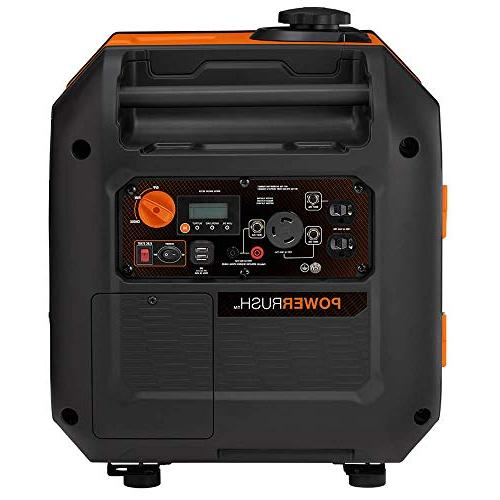 Portable Inverter Than Honda, Orange/Black
