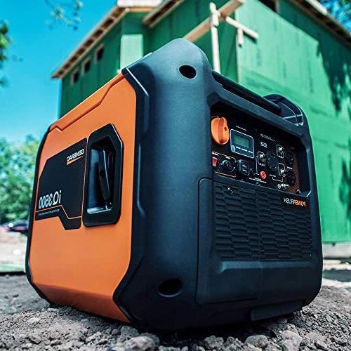 Generac 7127 Watt Portable Generator Quieter Than