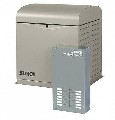 8kw standby generator package with complete installation