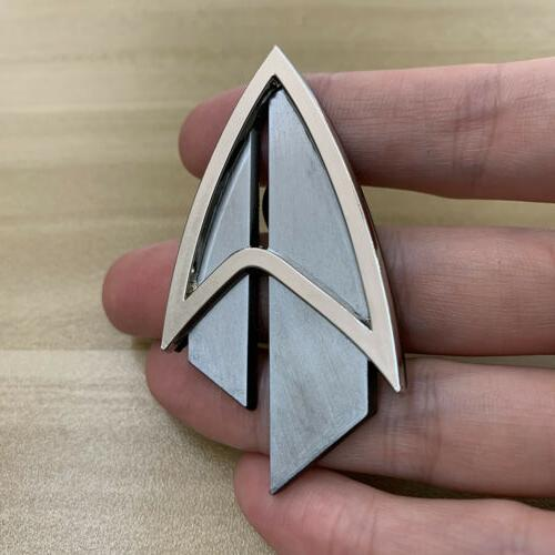 Admiral Picard The Pin Brooches Accessories
