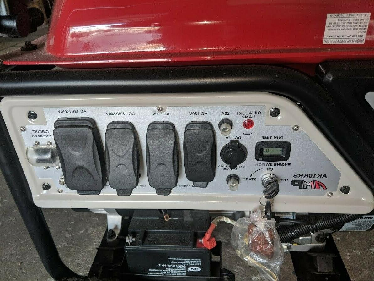 amp series gas generator 120 and