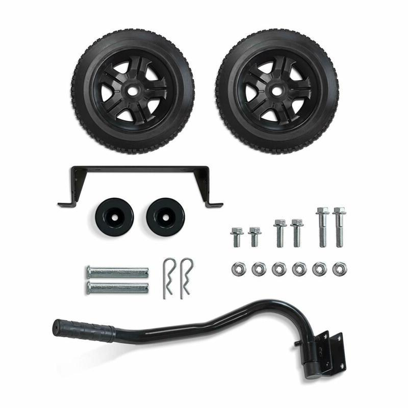 Champion Wheel Kit with Folding Handle and Never-Flat Tires