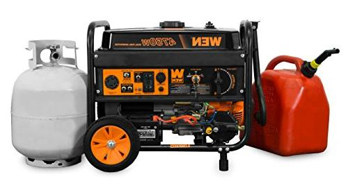 WEN 4750-Watt Dual with and Electric