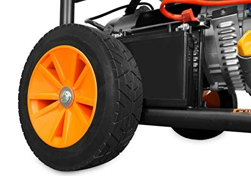 WEN 4750-Watt 120V/240V Dual with Wheel and Electric Start-CARB Compliant
