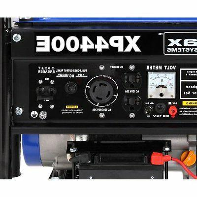 DuroMax Electric 4,400 Portable Gas Generator