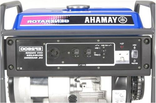 Yamaha EF2600, 2300 Watts/2600 Powered Generator, Compliant