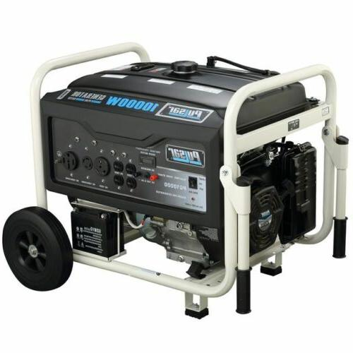 Pulsar Gas 10000W Generator Rated PG10000