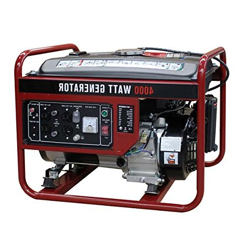 gasoline portable generator gas powered