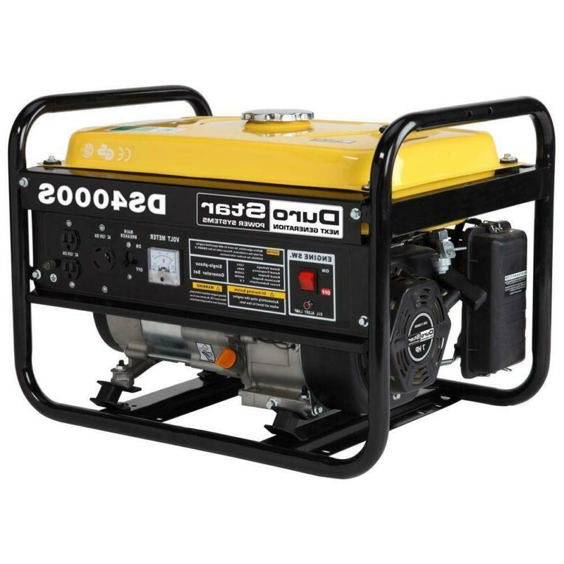 gasoline powered portable generator 3300w with rv