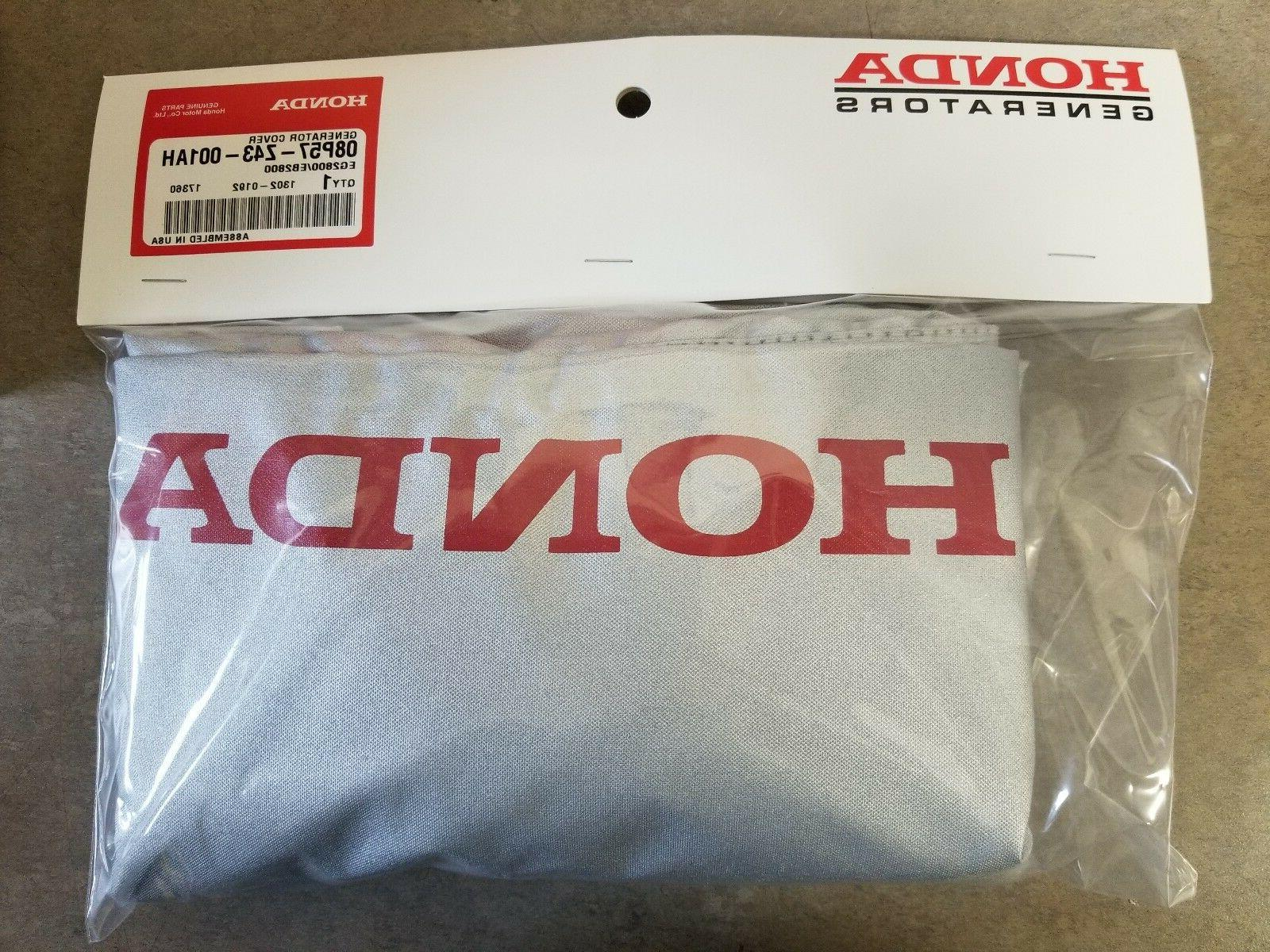 Honda Cover EG2800 Fit Water Silver