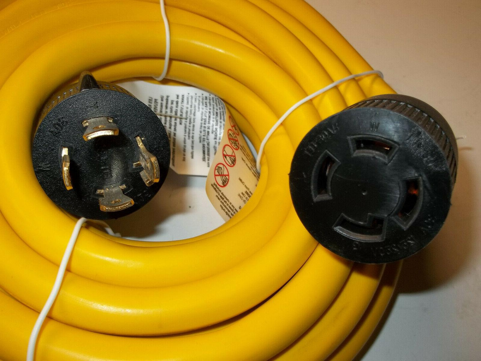 Generator Extension Ft 4 Cable Amp Adapter New