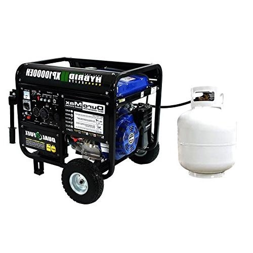 DuroMax Dual Fuel Portable Gas Propane Generator - Standby