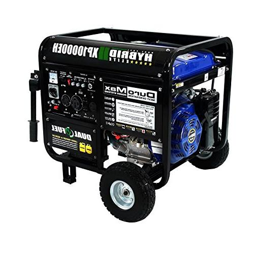DuroMax Dual Portable Propane Generator Standby