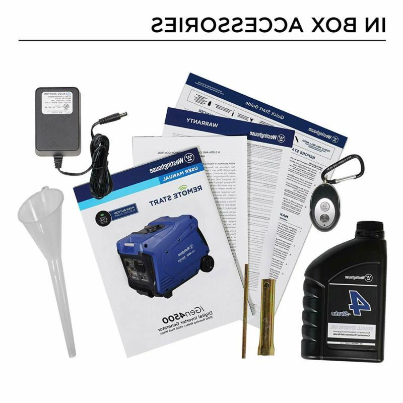 Westinghouse Super Portable Inverter - 3700 Rated