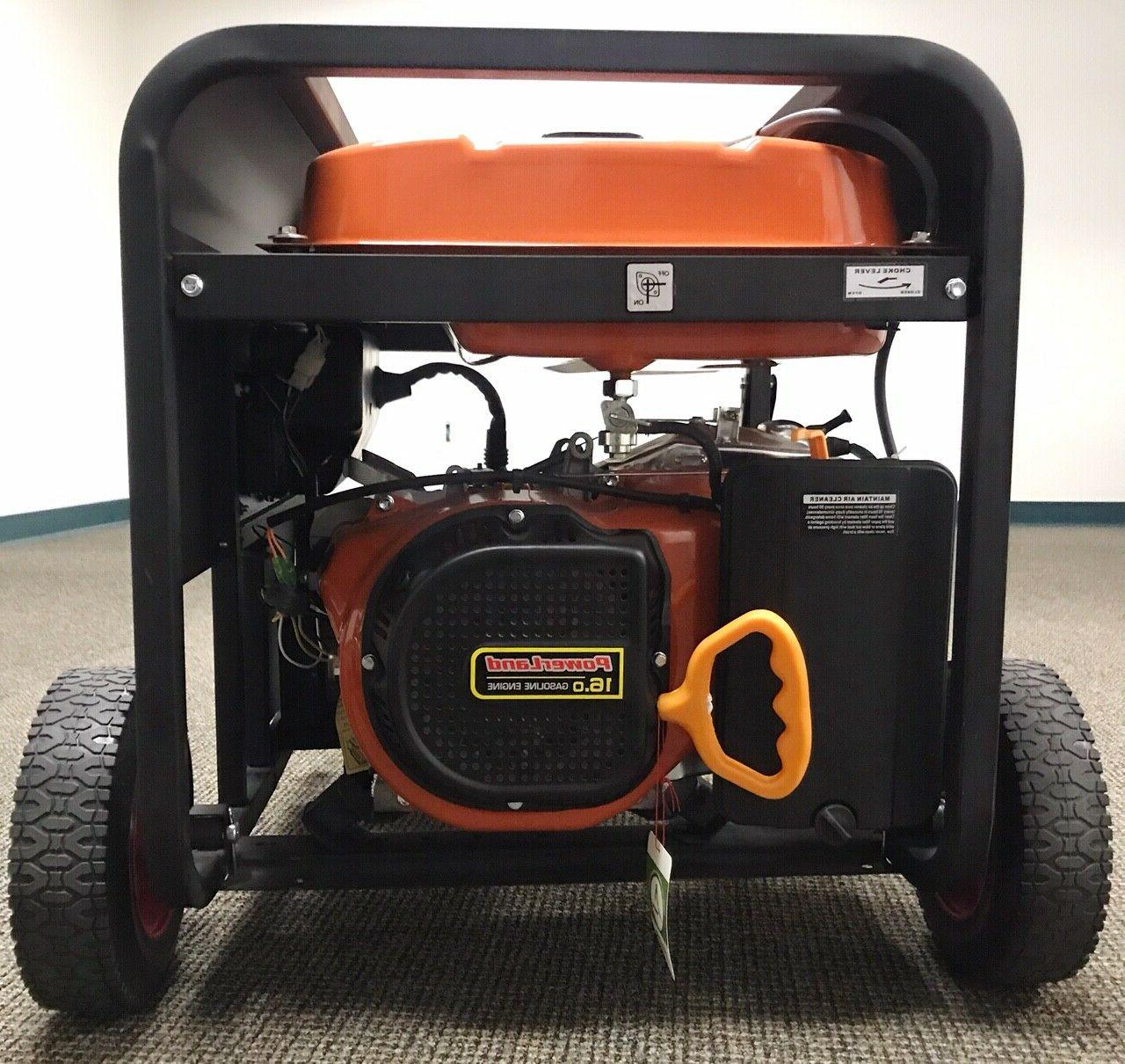 Upgraded-PowerLand PD10000E 10KW Gas Generator Electric