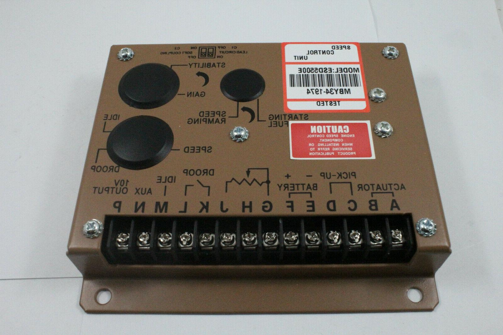 New Engine Controller Genset