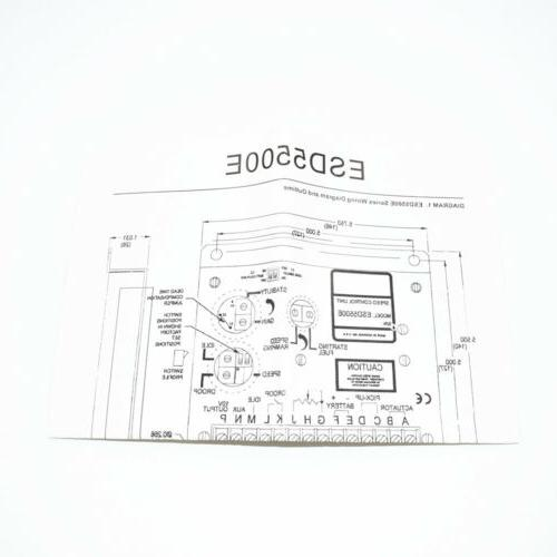 New Electronic Controller ESD5500E Genset Parts