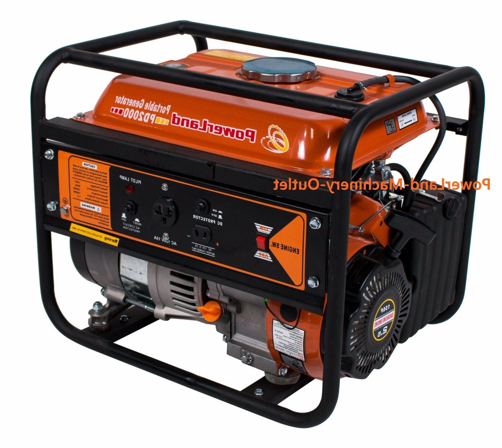 pd2000 portable 1500 watt 2 4hp gas