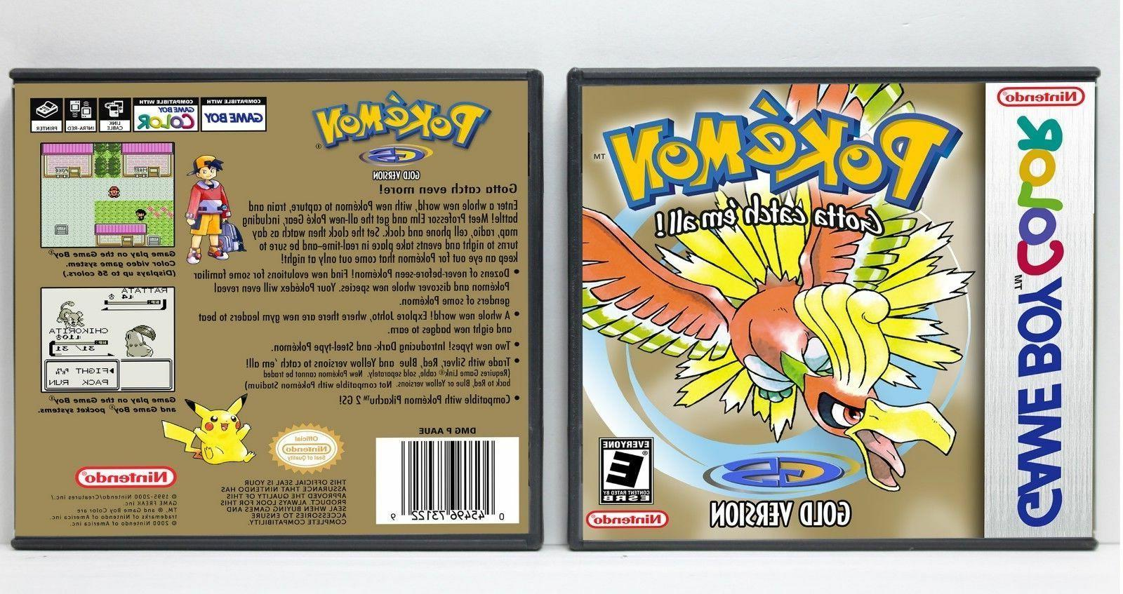 Pokemon 1st and 2nd Generation Game *NO GAMES*