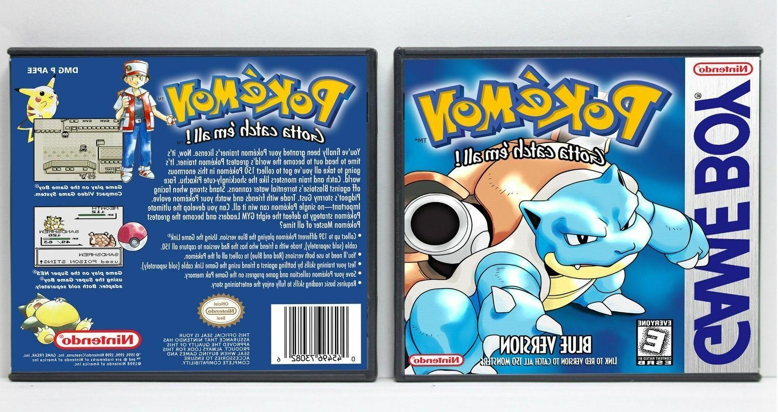 Pokemon and 2nd Generation Custom Game Cases *NO