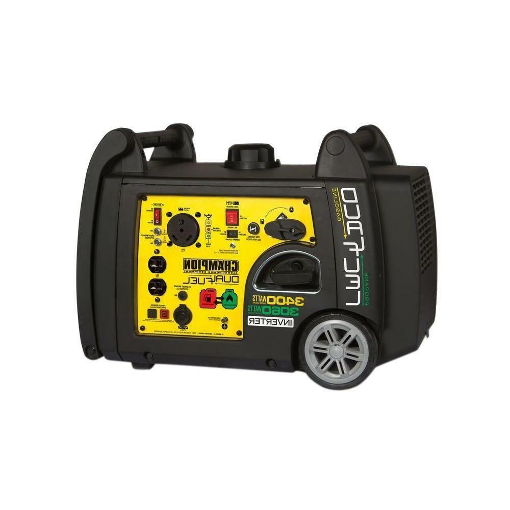 Portable Electric Start Dual Generator
