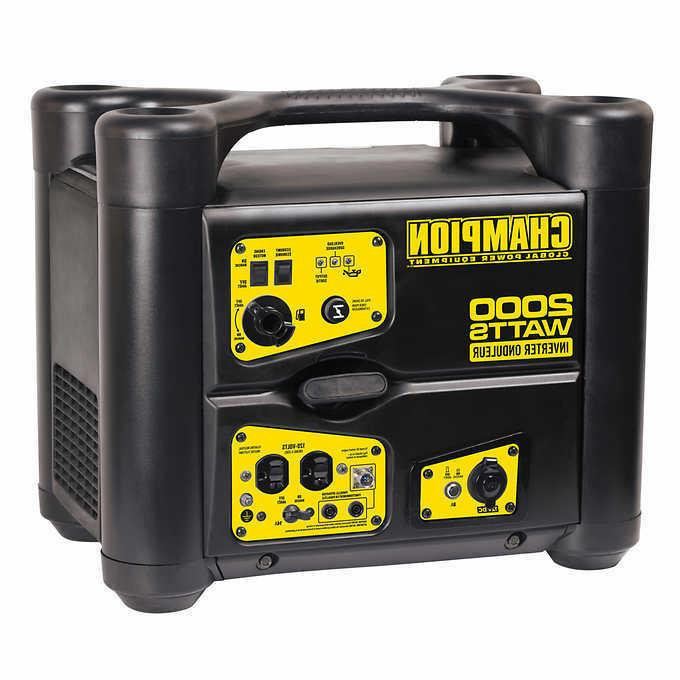 portable gas inverter generator
