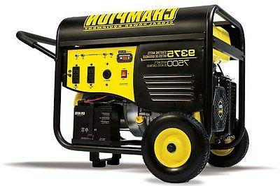 portable gas powered generator