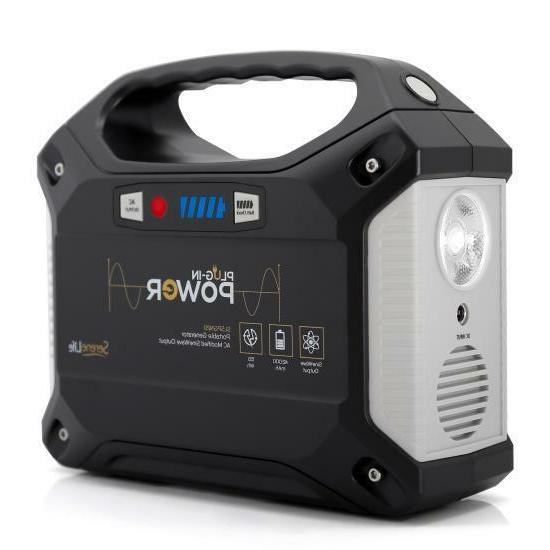 portable power generator rechargeable battery pack power