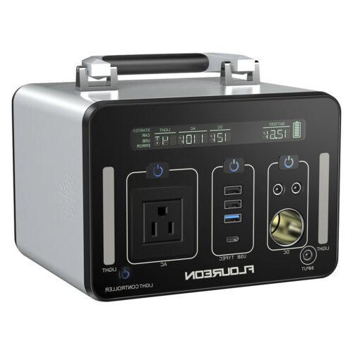 500Wh Generator Power Supply USB For Outdoors