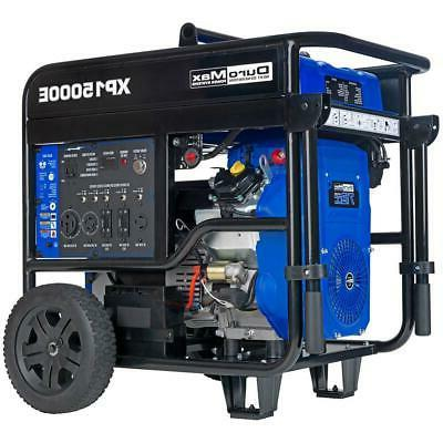 xp15000e 15000 watt v twin gas powered