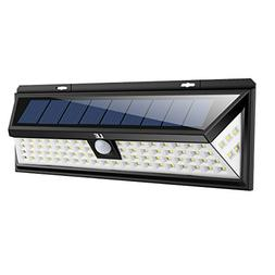 LE 80 LED Solar Lights Outdoor with Motion Sensor, 3 Optiona
