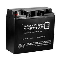 Mighty Max Battery ML18-12 - 12V 18AH UPS Battery Replaces V