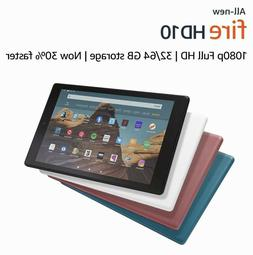 """NEW Amazon Fire HD 10 Tablet 10.1"""" Display 32 GB  - ALL COLO"""
