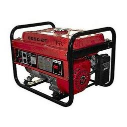 NEW OUTDOOR PORTABLE 3200W 6.5HP POWER GAS GENERATOR CAMPING