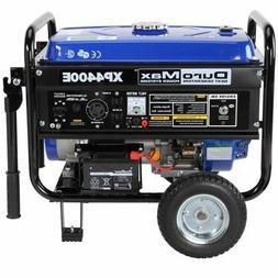 NEW XP4400E Gas Powered Generator Duromax 7 HP Portable 196c