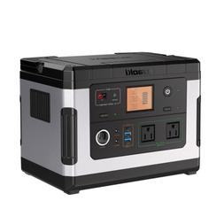 Outdoor BBQ Portable Power Station Portable 500Wh Rechargeab