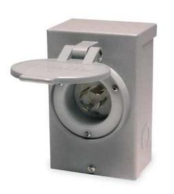 RELIANCE PB30 Outdoor Power Inlet Box,30 Amps