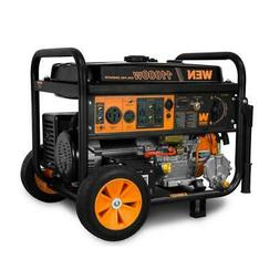 WEN Portable Generator 120V Dual Fuel Propane Powered Electr
