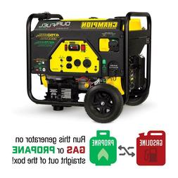 Portable Generator Champion Power Equipment 76533 Gas Propan