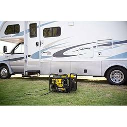 Portable Generator Electric 3500-Watt Dual Fuel Quiet RV Gas