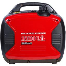 Portable Generator Inverter Gas-Powered Home Outdoor Camping