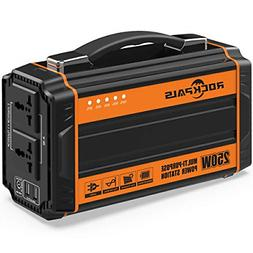 Rockpals 250-Watt Portable Generator Rechargeable Lithium Ba