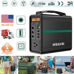 Portable Generator Power Station Solar Car Charger AC 2DC 3U